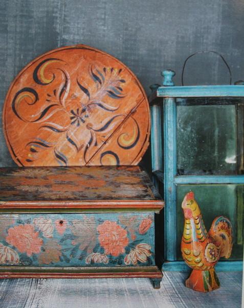 Beau Scandinavian Painted Furniture