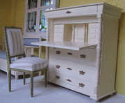 Swedish Secretaire a Abattant
